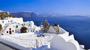 Griechenland Santorini stockfotografie