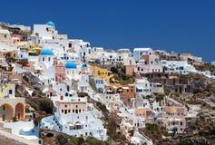 Griechenland, Santorini Ansichten Stockfotografie