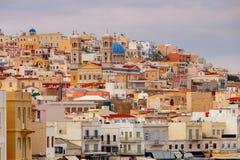 Griechenland Syros Insel Ermoupolis Lizenzfreie Stockfotografie