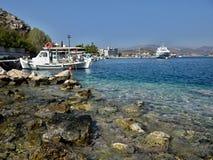 Griechenland, Tolo-im Hafen Lizenzfreies Stockfoto