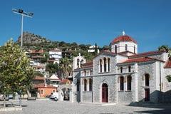 Griechisch-orthodoxe Kirche, Glyfada, Phocis, Griechenland stockfotos