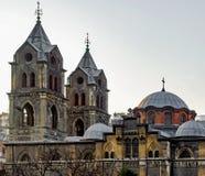 Griechisch-orthodoxe Kirche Panayia Evangelistria Stockbild