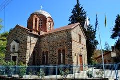 Griechisch-orthodoxe Kirche von Panayia Potamitissa stockbilder