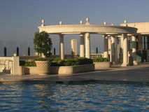 Griechisch-romanisches Pool Stockbilder