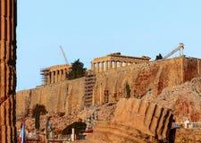 Griechische Akropolis Lizenzfreie Stockbilder