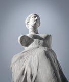 Griechische alte Statue Stockfotografie