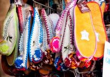 Griechische Andenken für Verkauf in Rhodos stockfoto