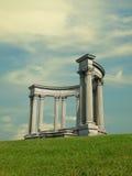 Griechische Artspalten Stockbild
