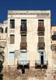 Griechische Blendenverschlüsse Lizenzfreie Stockfotografie