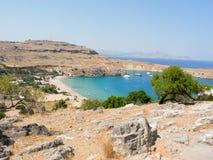 Griechische Bucht Stockfotografie