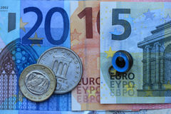 Griechische Eurokrise 2015 Stockfotografie