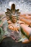 Griechische Fliese Stockfoto