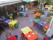 Griechische Gaststätte stockfoto