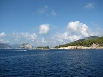 Griechische Insel Alonnisos im Ägäischen Meer Lizenzfreies Stockbild