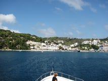 Griechische Insel Alonnisos im Ägäischen Meer Stockbild