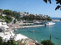 Griechische Insel Alonnisos im Ägäischen Meer Lizenzfreie Stockbilder