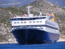 Griechische Insel-Fähre Lizenzfreie Stockfotografie