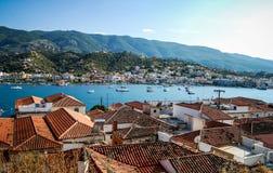 Griechische Insel-Lebensdauer Stockbild