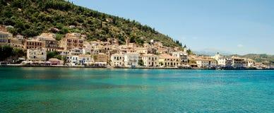 Griechische Insel-Lebensdauer Stockbilder