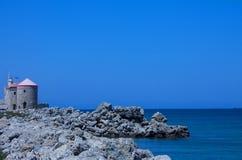 Griechische Insel von Rhodos Stockbild