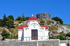 Griechische Kapelle Lizenzfreie Stockfotografie