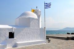 Griechische Kapelle Stockfotos