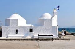 Griechische Kapelle Stockfotografie