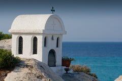 Griechische Kapelle Stockfoto