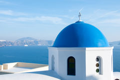 Griechische Kirche Stockfoto