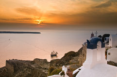 Griechische Kirche Stockfotografie