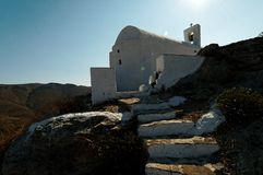 Griechische Kirche Stockfotos