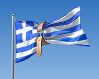 Griechische Krise vektor abbildung