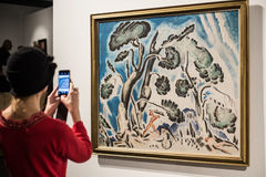 Griechische Kunstausstellung 20 - Jahrhundert 21 Stockfoto