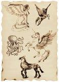 Griechische Mythen stock abbildung