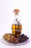 Griechische Oliven Lizenzfreies Stockfoto