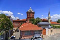 Griechische orthodoxe Collage Phanar in Balat, ıstanbul Stockfoto