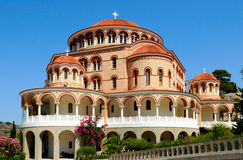 Griechische orthodoxe Kirche Stockfotografie