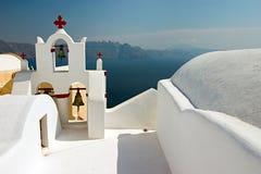 Griechische orthodoxe Kirche Stockbild