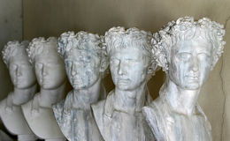 Griechische Skulpturen Stockbild