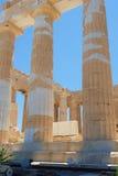 Griechische Spalten Stockbilder