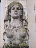 Griechische Sphinx (frontal) lizenzfreie stockfotos