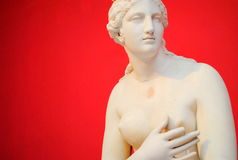 Griechische Statue Stockfotografie