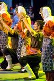 Griechische Tänzer stockfotos