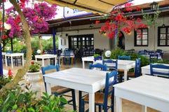 Griechische Taverne Stockbilder