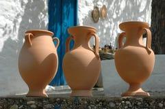 Griechische Tonwaren Stockfoto