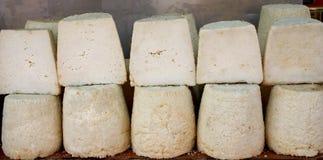 Griechische traditionelle Käse Stockbilder
