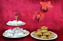 Griechische traditionelle Weihnachtsbonbons Stockbild