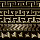 Griechische Verzierung Muster in der antiken Art Lizenzfreies Stockfoto