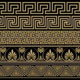 Griechische Verzierung Muster in der antiken Art Lizenzfreies Stockbild