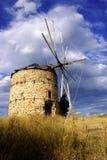 Griechische Windmühle Stockbild